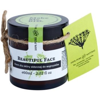 Make Me BIO Face Care Beautiful Face crema giorno leggera per pelli con imperfezioni (100% Pure and Natural) 60 ml