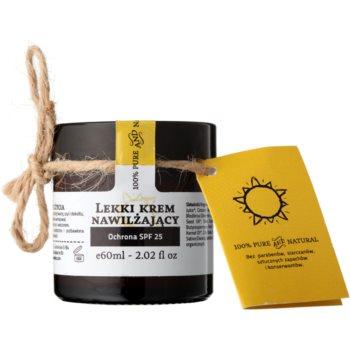 Make Me BIO Face Care crema idratante leggera SPF 25 (100% Pure and Natural) 60 ml