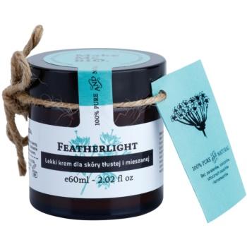 Make Me BIO Face Care Featherlight crema leggera per pelli miste e grasse (100% Pure and Natural) 60 ml