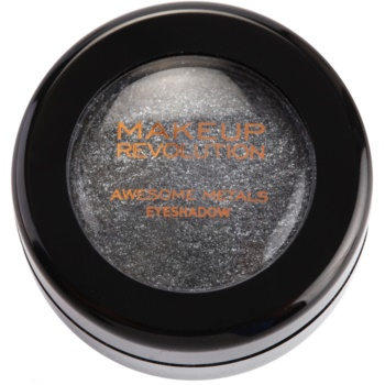 Makeup Revolution Awesome Metals ombretti colore Black Diamond 1,5 g