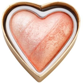 Makeup Revolution I ¦ Makeup Blushing Hearts blush colore Peachy Pink Kisses 10 g