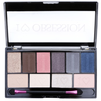 Makeup Revolution I ¦ Makeup I ¦ Obsession Palette palette di ombretti (Paris) 17 g