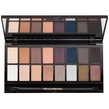 Makeup Revolution Iconic Pro 2 palette di ombretti con specchietto e applicatore 16 g