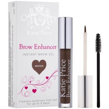 Makeup Revolution Katie Price gel fissante per sopracciglia colore Brown 3,8 g