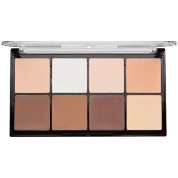 Makeup Revolution Ultra Pro HD Light Medium palette contorno viso in polvere 20 g