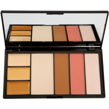 Makeup Revolution Protection palette per viso completo colore Medium 19 g