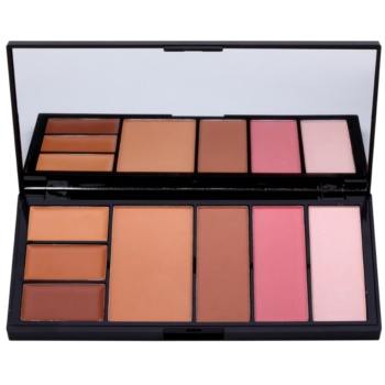 Makeup Revolution Protection palette per viso completo colore Medium/Dark 19 g