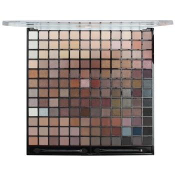 Makeup Revolution Ultimate Iconic palette di ombretti con applicatore (144 Eyeshadow Palette) 90 g
