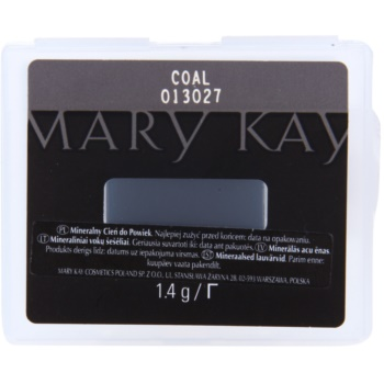 Mary Kay Mineral Eye Colour ombretti colore Coal (Mineral Eye Colour) 1,4 g