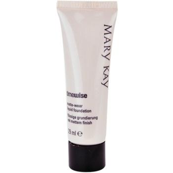 Mary Kay TimeWise Matte-Wear primer opacizzante per pelli miste e grasse colore 8 Beige (Liquid Foundation) 29 ml