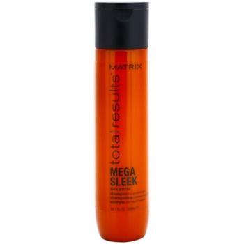Matrix Total Results Mega Sleek shampoo per capelli ribelli e crespi (Shea Butter) 300 ml