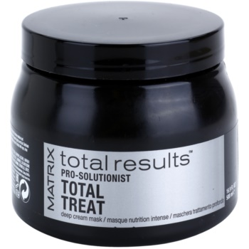 Matrix Total Results Pro Solutionist maschera nutriente per capelli rovinati, trattati chimicamente (Deep Cream Mask) 500 ml