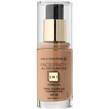 Max Factor Facefinity fondotinta 3 in 1 colore 77 Soft Honey (All Day Flawless) 30 ml