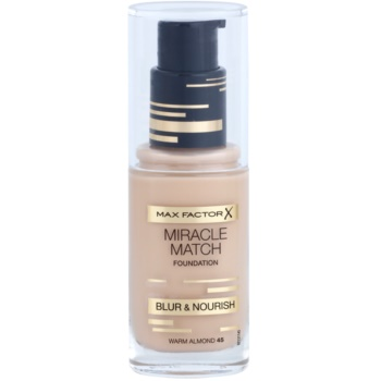 Max Factor Miracle Match fondotinta liquido effetto idratante colore 45 Warm Almond 30 ml