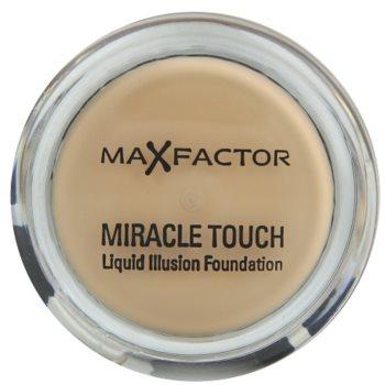 Max Factor Miracle Touch fondotinta per tutti i tipi di pelle colore 80 Bronze (Liquid Illusion Foundation) 11,5 g
