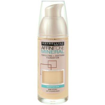 Maybelline Affinitone Mineral fondotinta liquido colore 10 Ivory 30 ml