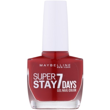 Maybelline Forever Strong Super Stay 7 Days smalto per unghie colore 06 Rouge Profond 10 ml