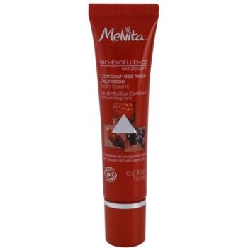 Melvita Bio-Excellence Naturalift crema ringiovanente occhi effetto lisciante (Smoothing Care) 15 ml