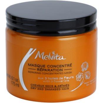 Melvita Hair maschera rigenerante per capelli rovinati e secchi 175 ml