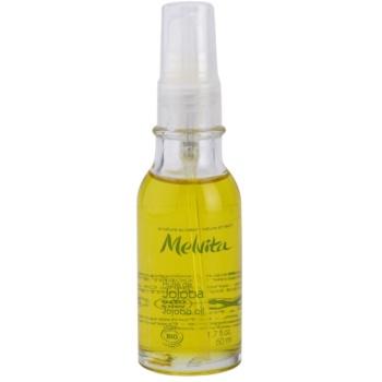 Melvita Huiles de Beauté Jojoba olio idratante rigenerante per viso e corpo Jojoba Oil (Moisturizing,Repairing) 50 ml