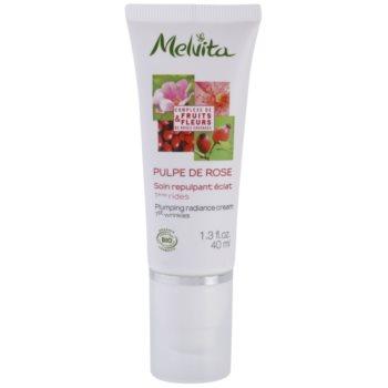 Melvita Pulpe de Rose crema illuminante contro i primi segni di invecchiamento della pelle Fruits & Fleurs (Plumping Radiance Cream) 40 ml