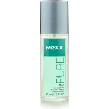 Mexx Pure for Man deodorante con diffusore per uomo 75 ml