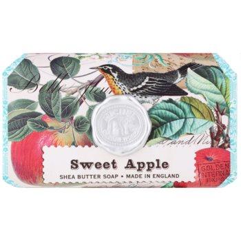 Michel Design Works Sweet Apple sapone idratante con burro di karité (Pure Vegetable Palm Oil, Glycerin, Shea Butter) 246 g