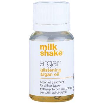 Milk Shake Argan Oil trattamento all'olio di argan per tutti i tipi di capelli (With Organic Argan Oil) 10 ml