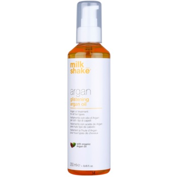 Milk Shake Argan Oil trattamento all'olio di argan per tutti i tipi di capelli (With Organic Argan Oil) 250 ml