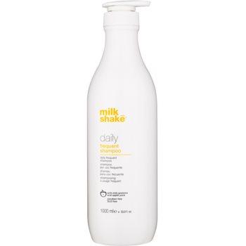 Milk Shake Daily shampoo per il lavaggio frequente dei capelli senza parabeni (With Milk Proteins & Apple Juice) 1000 ml