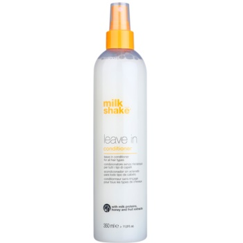 Milk Shake Leave In balsamo trattante per tutti i tipi di capelli (with Milk Proteins, Honey & Fruit Extracts) 350 ml