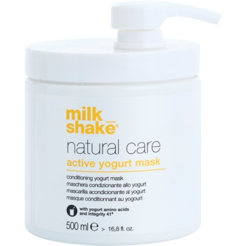 Milk Shake Natural Care Active Yogurt maschera allo yogurt attiva per capelli 500 ml