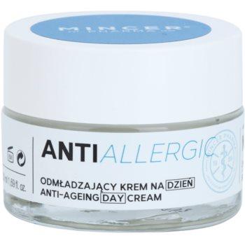 Mincer Pharma AntiAllergic N° 1100 crema giorno ringiovanente per pelli sensibili N°1102 (Bacocalmine, Iricalmin, Chia Oil) 50 ml
