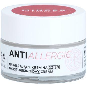 Mincer Pharma AntiAllergic N° 1200 crema idratante giorno per capillari dilatati e rotti N°1201 (Chestnut, Gingko Biloba, Lingonberry) 50 ml