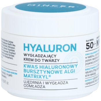 Mincer Pharma Hyaluron N° 400 crema lisciante 50+ N° 402 (Hyaluronic Acid, Amber Algae, Matrixyl) 50 ml