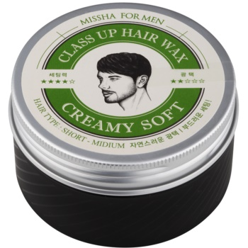 Missha For Men Class Up Hair Wax cera in crema per capelli (Short Hair, Creamy Soft) 90 g
