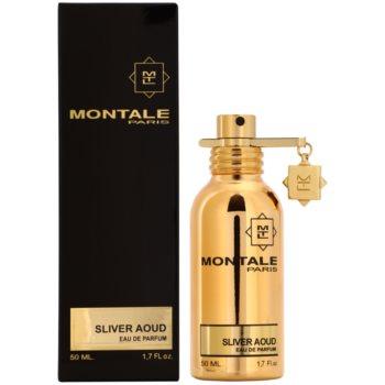 Montale Sliver Aoud eau de parfum per uomo 50 ml