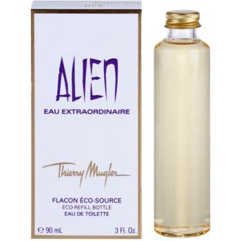 Mugler Alien Eau Extraordinaire eau de toilette per donna 90 ml ricarica