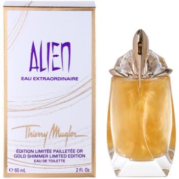 Mugler Alien Eau Extraordinaire Gold Shimmer Limited Edition eau de toilette per donna 60 ml