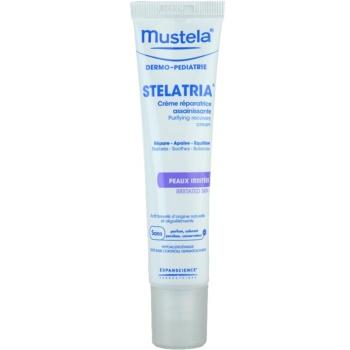Mustela Dermo-Pédiatrie Stelatria crema rigenerante per pelli irritate (Purifying Recovery Cream) 40 ml