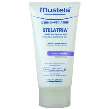 Mustela Dermo-Pédiatrie Stelatria gel protettivo detergente per pelli irritate (Protective Cleansing Gel) 150 ml