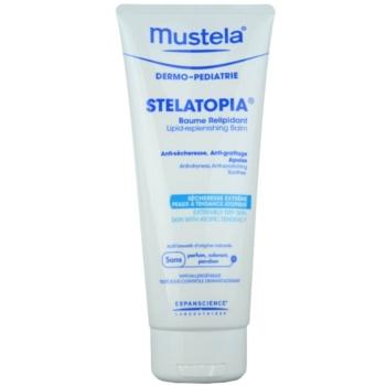 Mustela Dermo-Pédiatrie Stelatopia balsamo corpo per per pelli molto secche, sensibili e atopiche (Lipid-Replenishing Balm) 200 ml