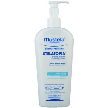 Mustela Dermo-Pédiatrie Stelatopia crema detergente per per pelli molto secche, sensibili e atopiche (Cleansing Cream) 400 ml