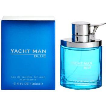 Myrurgia Yacht Man Blue eau de toilette per uomo 100 ml