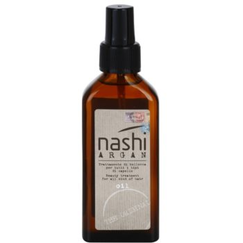 Nashi The Original olio nutriente per capelli (Beauty Treatment for All Kind of Hair with Pump) 100 ml