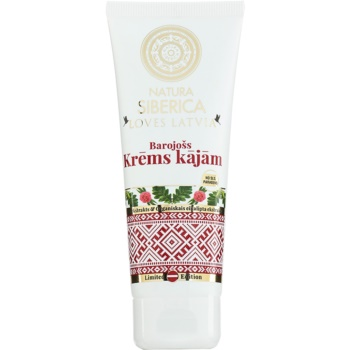 Natura Siberica Loves Latvia crema nutriente per i piedi 75 ml
