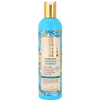 Natura Siberica Sea-Bucktorn shampoo per capelli ultra volumizzante 400 ml
