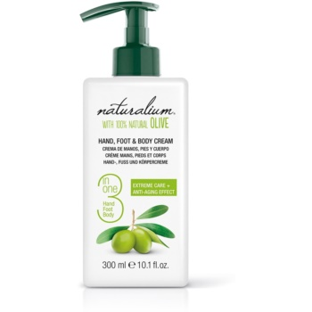 Naturalium Olive crema corpo (Hand, Foot & Body Cream) 300 ml