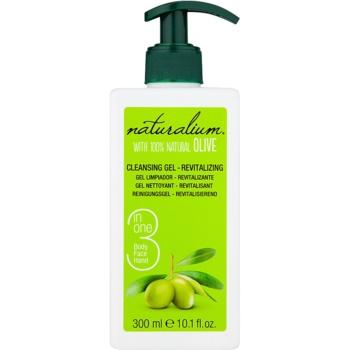 Naturalium Olive gel detergente rivitalizzante per viso e corpo 300 ml