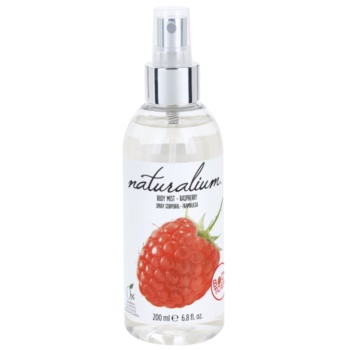 Naturalium Fruit Pleasure Raspberry spray rinfrescante corpo Raspberry (0% Parabens) 200 ml